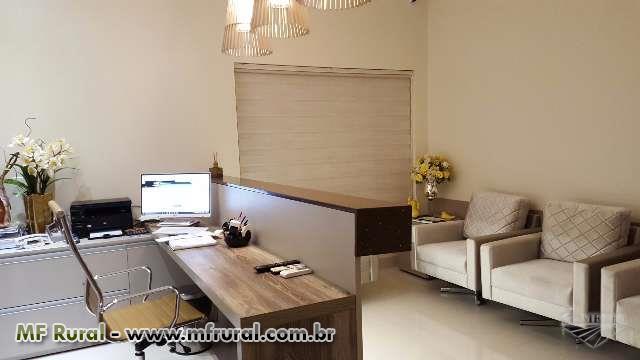 Vende se imóvel para escritorio ou clinica, recem construído no centro da cidade