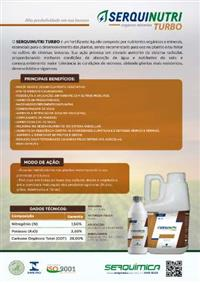 Fertilizante Foliar Serquinutri Turbo