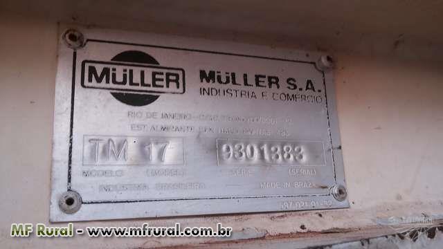 TRATOR MÜLLER TM 17 FILIPADO, C/ INTERCOOLER ANO 1993