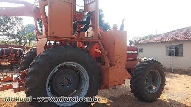 CARREGADEIRA AGRÍCOLA SANTAL TRATOR 290 ANO 1996 4X4