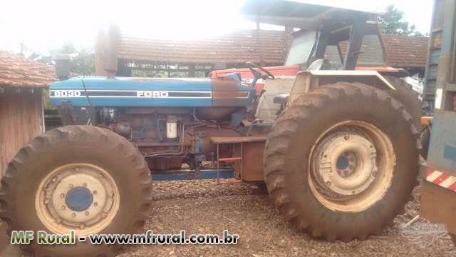 Trator Ford/New Holland 8030 4x4 ano 93
