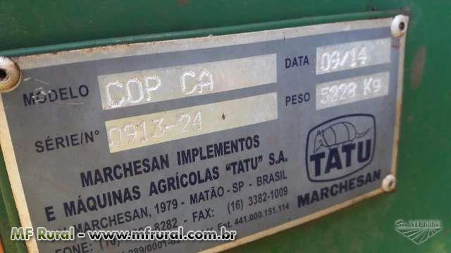 PLANTADEIRA AGRÍCOLA TATU COP ANO 2014 C/ 9 LINHAS E PLANTIO DIRETO.