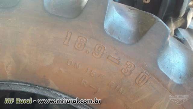 PNEUS AGRÍCOLA FIRESTONE C/ CÂMARA DE AR NOVA ( PAR ) 16.9-30