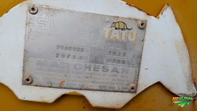 ESPARRAMADEIRA AGRÍCOLA TATU  DE CALCÁRIO E OUTROS, ANO 2008, CAPACIDADE 2,5 TONELADAS