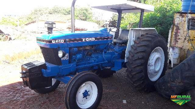 Trator Ford 6610 4x2 ano 87