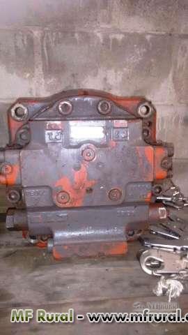BOMBA de GIRO e TORQUE para escavadeira até 70 ton. 2 da  (Volvo) e outras
