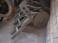Linhas com disco duplo para plantadeira Baldan