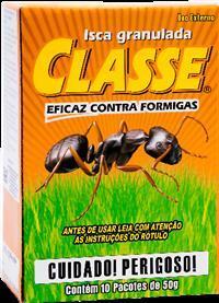 Isca Formicida Classe  Caixa com 10×50 g