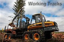Esteras em aco para maquinario florestal tipo tracks