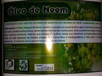 OLEO DE NEEM  PURO