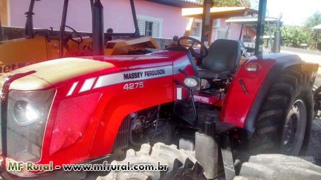 Trator Massey Ferguson MF4275 4x4 ano 12
