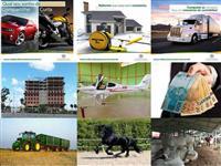 Crédito Rural Para Maquinas - Terras - Caminhões - Veículos  - Imóveis.