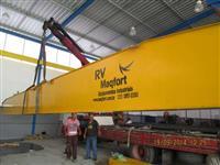 Ponte Rolante Maqfort fabricada para ate 20 toneladas