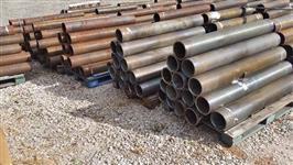 VENDO TUBOS - AÇO CARBONO 7 POL / 1/2 pol. parede / 1,50 m e 1,25 m (50 ton)