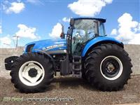 Trator New Holland 4x4 ano 16
