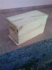 caixa isca europa com 5 quadros