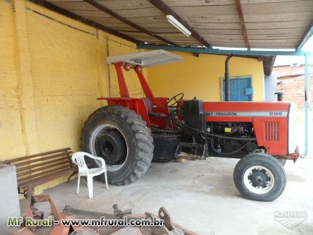 Trator Massey Ferguson 295 4x2 ano