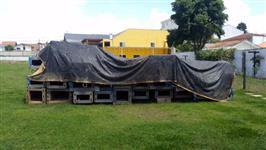 Pé direito para construção de Barracão movel