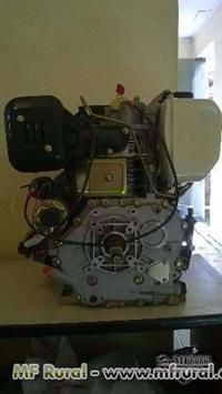 Motor Branco 10.0 eixo HP.E Partida Elétrica é manual