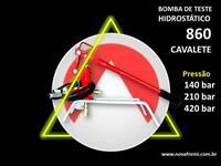 BOMBA DE TESTE HIDROSTÁTICO MODELO 860 – NOVA FREMI – PRESSÃO DE 140, 210 OU 420 BAR