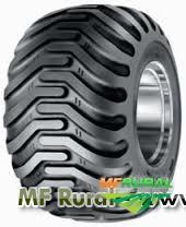 Comércio de pneus usados de máquinas e tratores