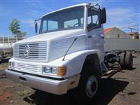 Caminhão Mercedes Benz (MB) LA 1418 4x4 ano 96