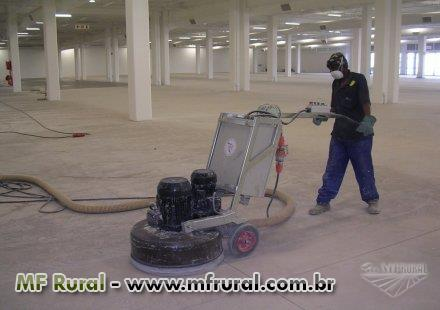 Piso de Concreto Polido - Alvaro Martins Pisos Industriais