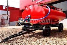 Tanque de Água 5000 Litros - c/ bomba - Sobre chassis de 04 Rodas