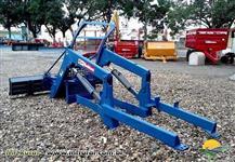 Conjunto de Lamina p/ Tratores 7630 4x4 S100 Série 2003 Para Lama Azul - BALDAN