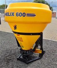 Distribuidor de Calcário, Fertilizantes e Semeadeira – JF HELIX 600 – Novo