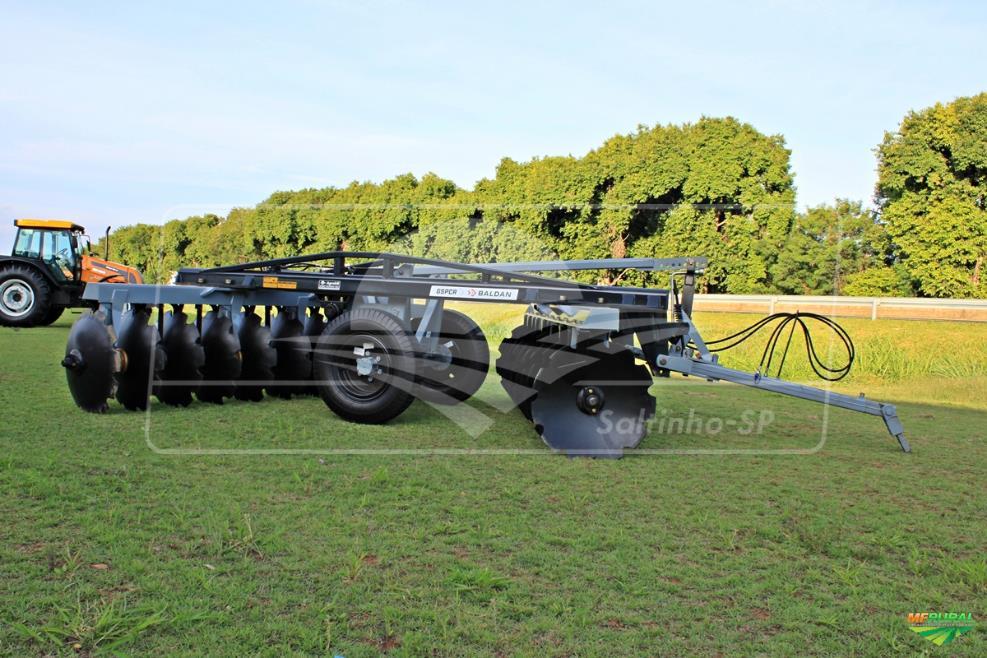 Grade Aradora Super Pesada Ctrl. Remoto / GSPCR 20 x 36″ x 430 mm – Baldan > Nova