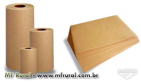 Papel Semi Kraft larg 60 cm c/150 metros