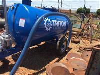 Tanque para chorume de 3 mil litros marca Triton Fertilance