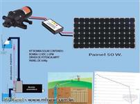 Bomba solar com driver mppt
