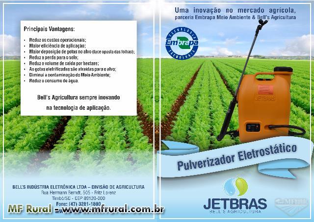 Pulverizador Costal Elétrico/Eletrônico - Jetbras o Primeiro Brasileiro