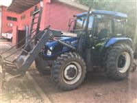 Trator New Holland TL 75 E 4x4 ano 14