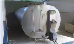 Tanque de expansão de leite