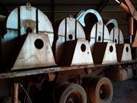 Caixa de turbinas de silos