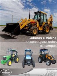 CABINAS E VIDROS DE TRATORES E COLHEDEIRAS E MAQUINAS