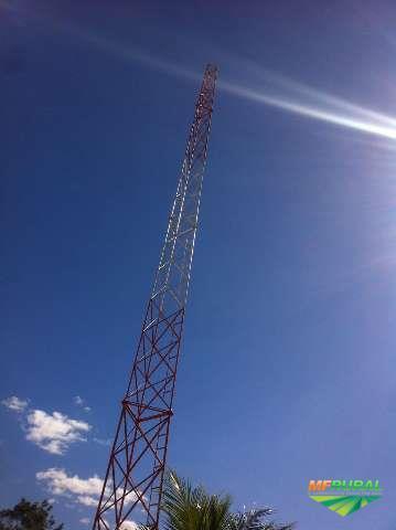 Torre autoportante telecom