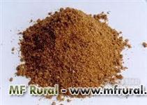 Subproduto animal, farinha de carne e sangue para fabricação de ração