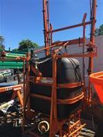 Pulverizador 600 litros barras manuais