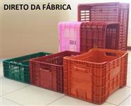 Caixas Plasticas, Agrícolas, Hortifruti, Frutas, Frango (FABRICA SP, MG, BA)