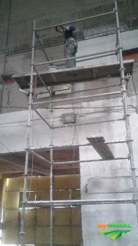 construção e ampliação de galpões