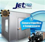 CÂMARAS FRIGORIFICAS/CHILLER/COMPRESSORES/PROJETOS - JETFRIO