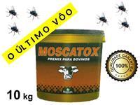 Moscatox - Premix Vitamínico Probiótico Para Gado de Corte e Leite Embalagem 10 kg