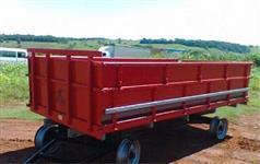 Carreta 4 Rodas Agrícola com Sobre Tampa para 4.000 kg ( quilos )