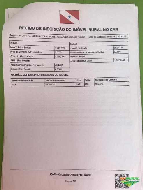 GRANDE OPORTUNIDADE, MAGNÍFICA FAZENDA PARA INVESTIDORES!