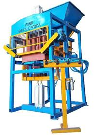 Máquina de blocos pneumática BL4000