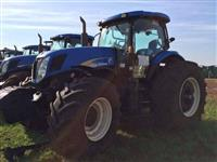 Trator Ford/New Holland T7 245 4x4 ano 13